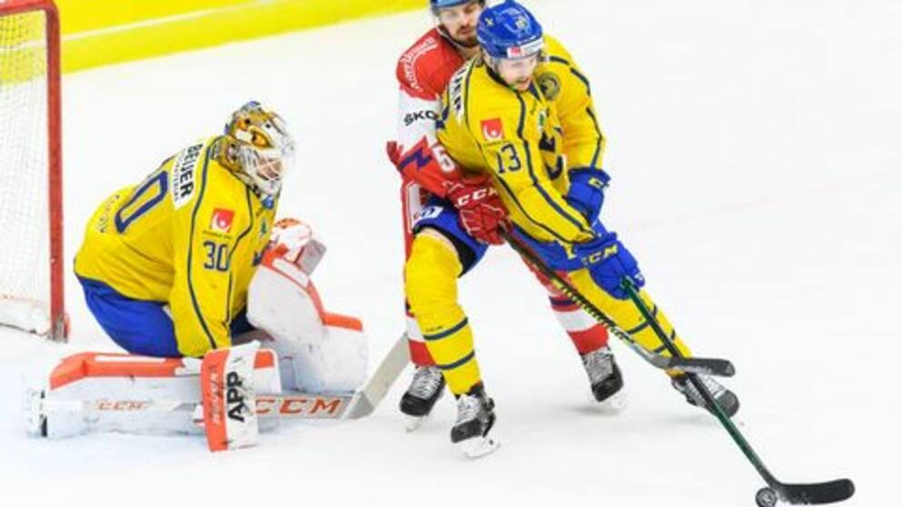 Viktor Fasth i Tre kronor.