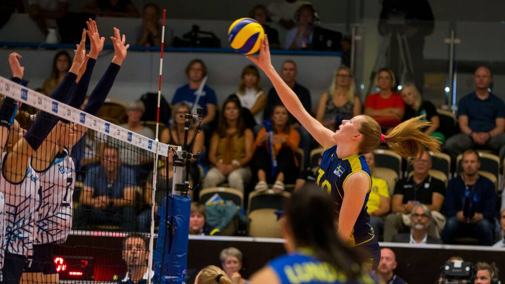 Isabelle Haak och Sverige ställs bland annat mot Turkiet.