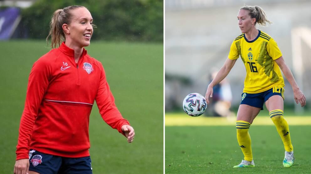 Landslagsspelaren Julia Roddar har bytt Göteborg mot Washington