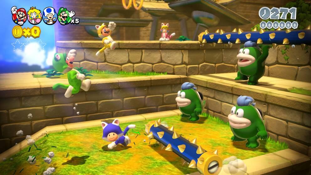 """Det har gått 15 år sedan de populära Mario-spelen varit lagliga i Kina. Här en bild ur """"Super Mario 3D World"""" från 2014."""