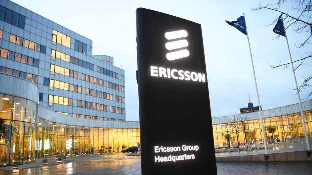 Ericssons huvudkontor i Kista.