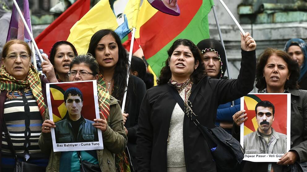 Kurder anklagar rival for bilbomb