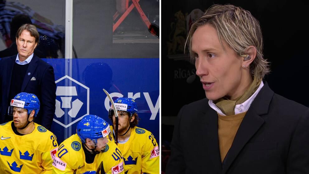 Maria Rooth analyserar Tre Kronors fortsättning i hockey-VM.
