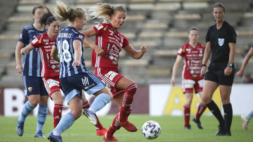 Arkivbild. Piteå besegrade Djurgården med 1-0.