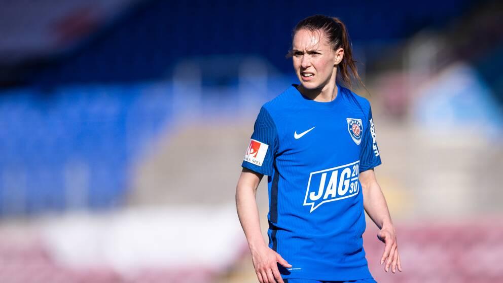 Felicia Rogic gjorde matchens första mål.