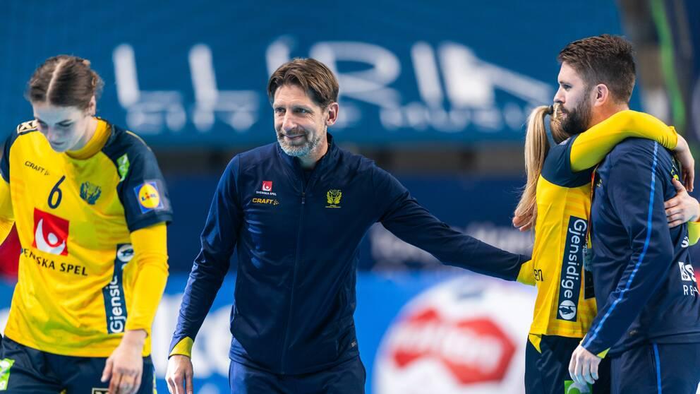 Handbollslandslagets förbundskapten Tomas Axnér inför Tokyo-OS.