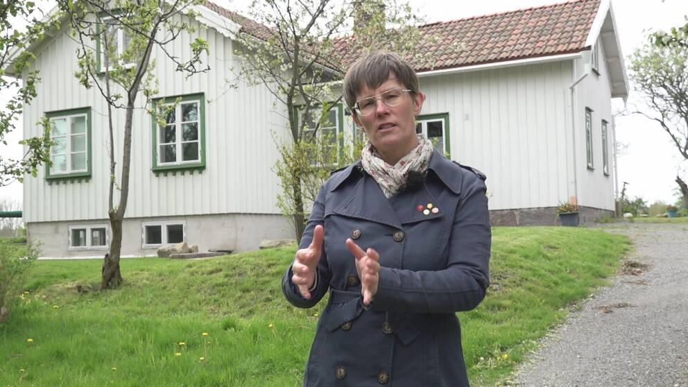 Anna Nyström har bott i Åsa i Kungsbacka kommun sedan 2014.