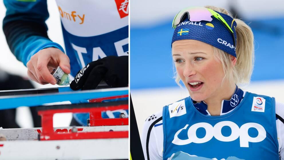 Frida Karlsson och de övriga åkarna förbjuds att tävla med en viss typ av flourvalla framöver.