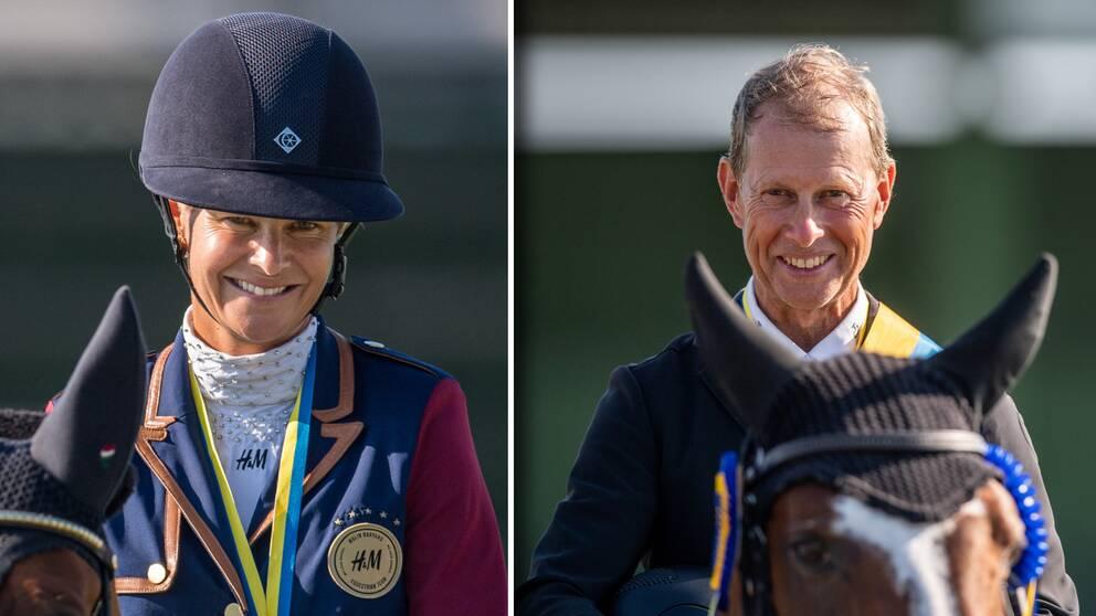 Malin Baryard Johnsson och Rolf-Göran Bengtsson är några som får tävla i Stockholm.