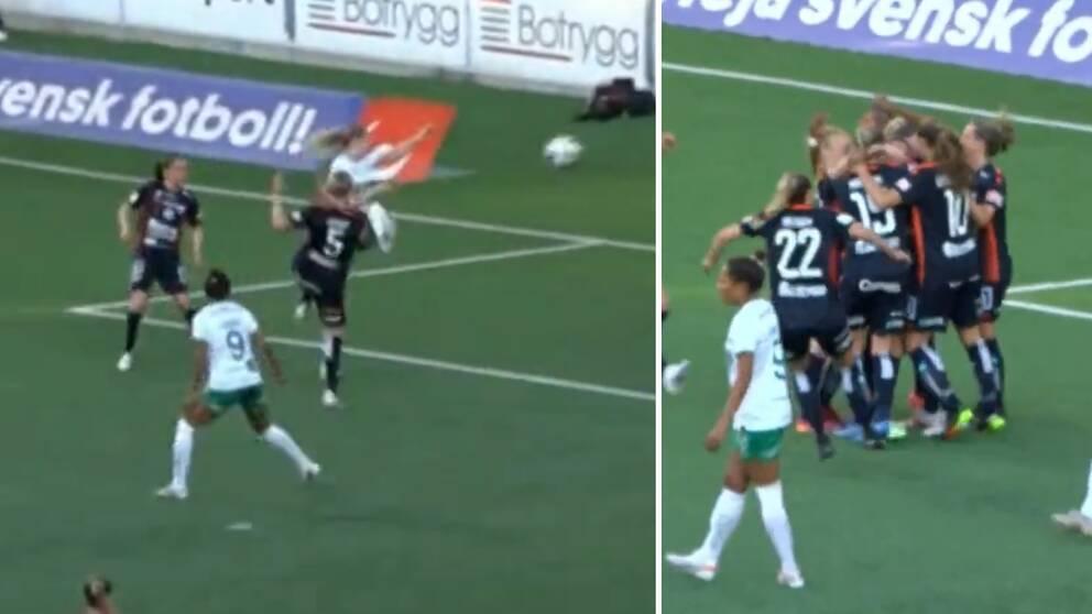 Nilla Fischer slog till mot Hammarby.