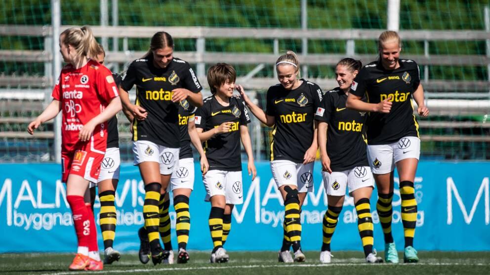 Honoka Hayashi slog till med ett drömmål när AIK vann.