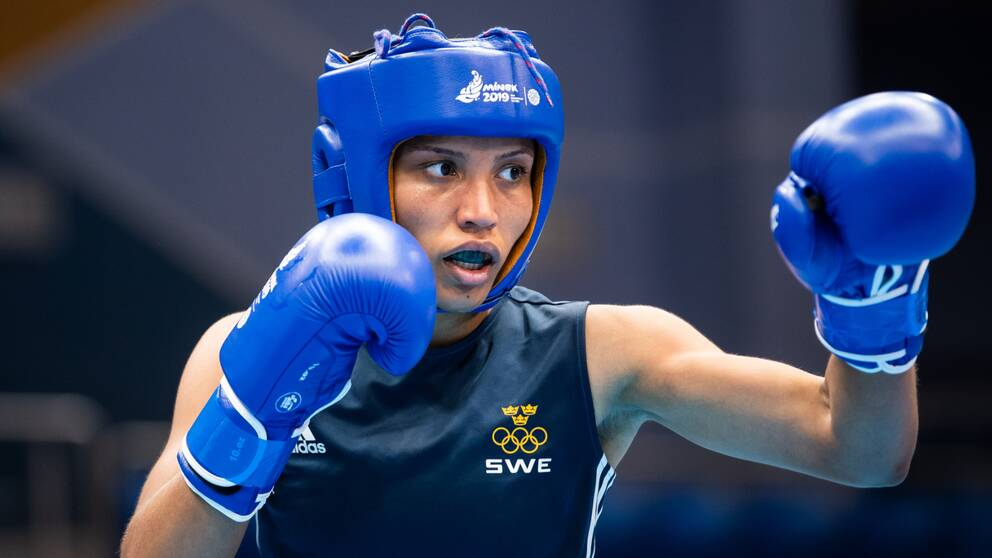 Agnes Alexiusson säkrade OS-biljetten i Paris.