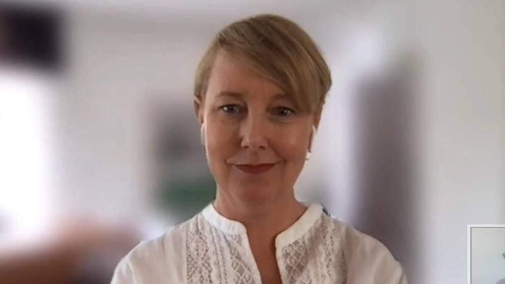 Skoldirektör Maria Kjällström