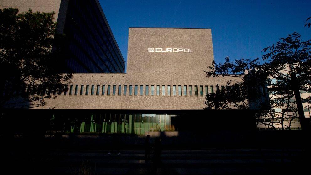 Europols högkvarter i Haag, Nederländerna.