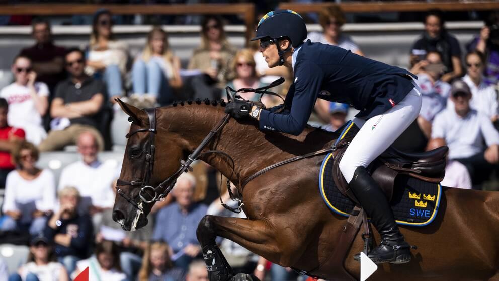 Henrik von Eckermann pensionerar sin stjärnhäst Tovek Mary Lou.