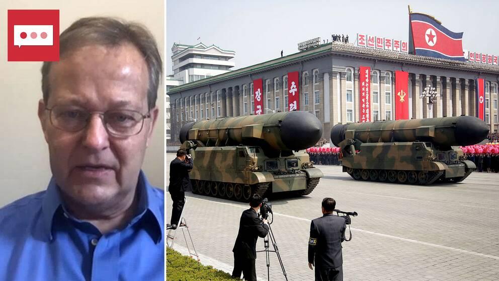 Hans M. Kristensen, kärnvapenexpert på Sipri