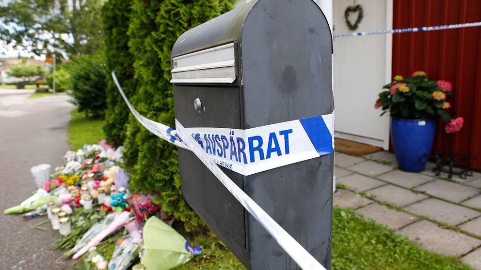 Det lilla samhället Bålsta chockades svårt när flickan mördades i juli.