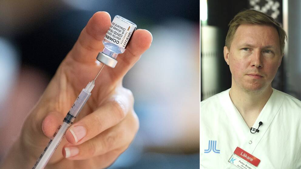 Här förklarar professorn i pediatrik, Petter Brodin, varför det ären så svår avvägning att avgöra om barn ska vaccineras eller ej.