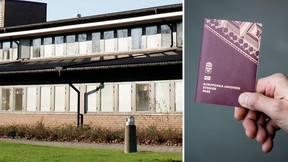 polishuset i Ystad och ett svenskt pass