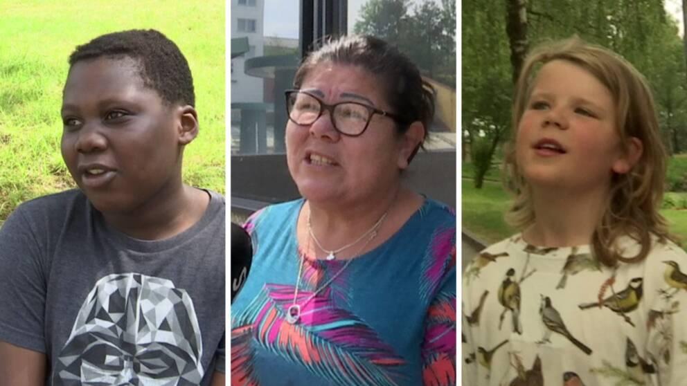 Salim Napali, Marlene Florian Durán, Vidar Lo Blom Nählinder