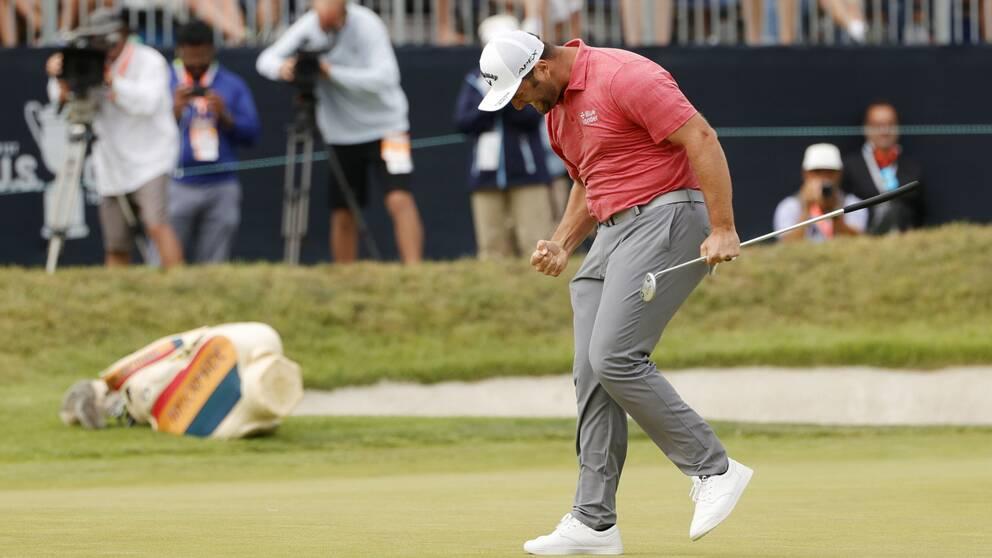 Jon Rahm vann US Open.