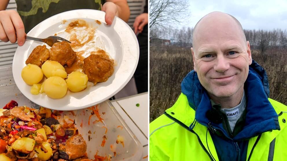 Anders Karlsson, affärsområdeschef för avfall på Nodra.
