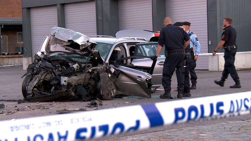 Svar trafikolycka i skane