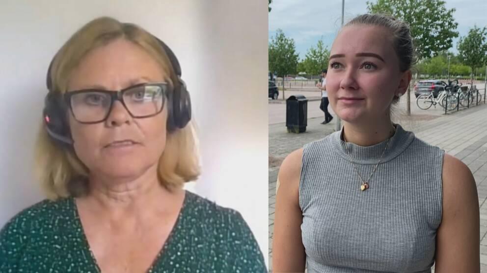 Vaccinsamordnare Pernilla Wallerstedt och privatpersonen Victoria Josse.