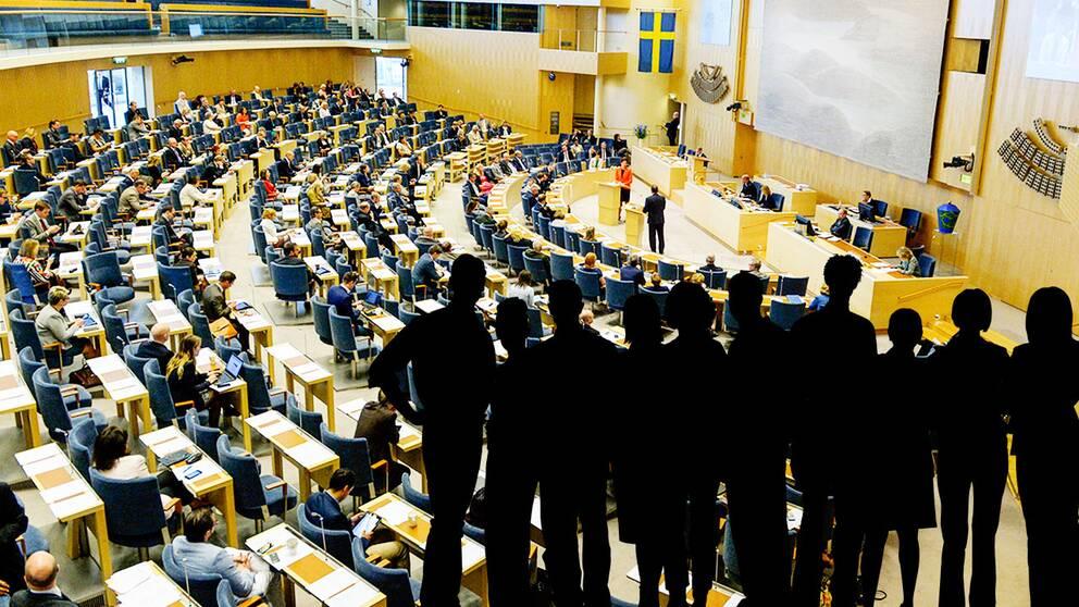 Kritiska vansterpartister hoppar av riksdagen