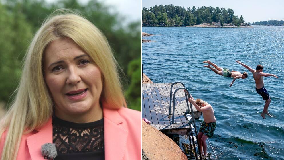 Varmt och fuktigt, orden som kommer att beskriva den kommande veckans väder. Hör SVT:s meteorolog Deana Bajic berätta mer.