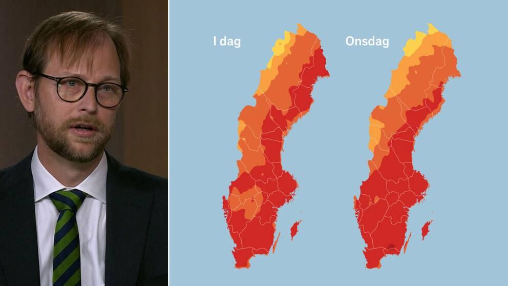 Så håller du dig sval i värmen – forskaren Petter Ljungman ger sina bästa tips