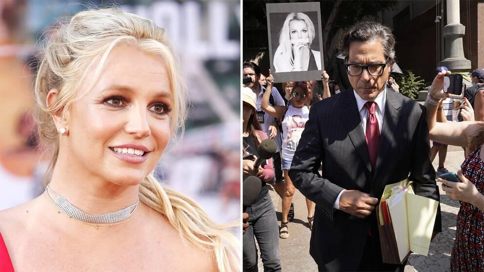 Britney Spears/Advokat Mathew Rosengart i samband med ons