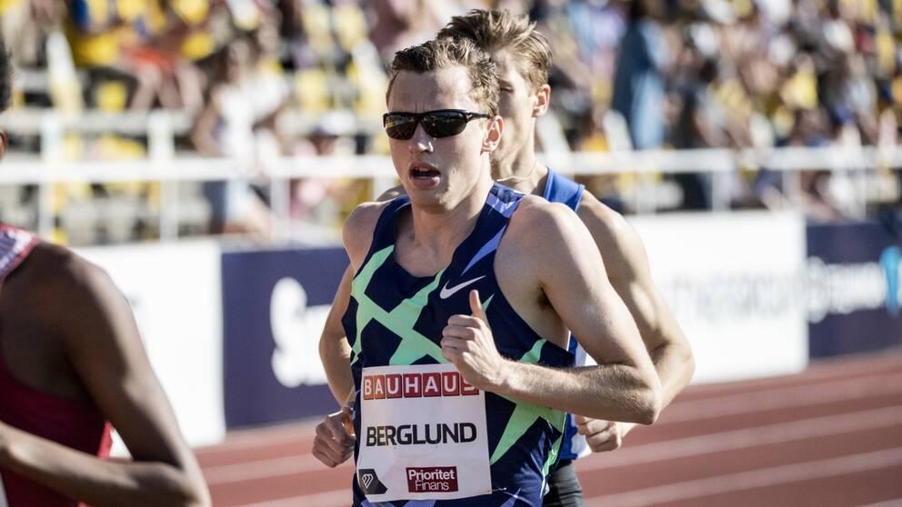 Medeldistanslöparen Kalle Berglund är redo för OS.