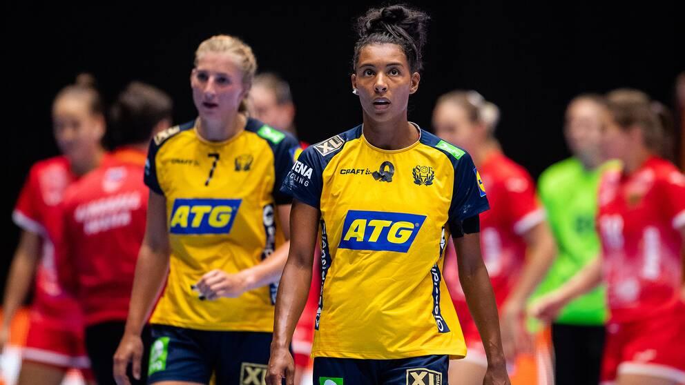 Damerna i handboll gör sin första gruppspelsmatch i dag mot Spanien.