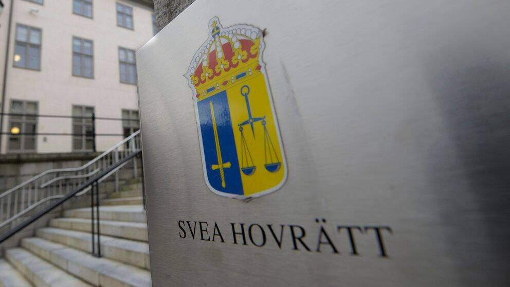 Hovratt sankte straff for sexbrott