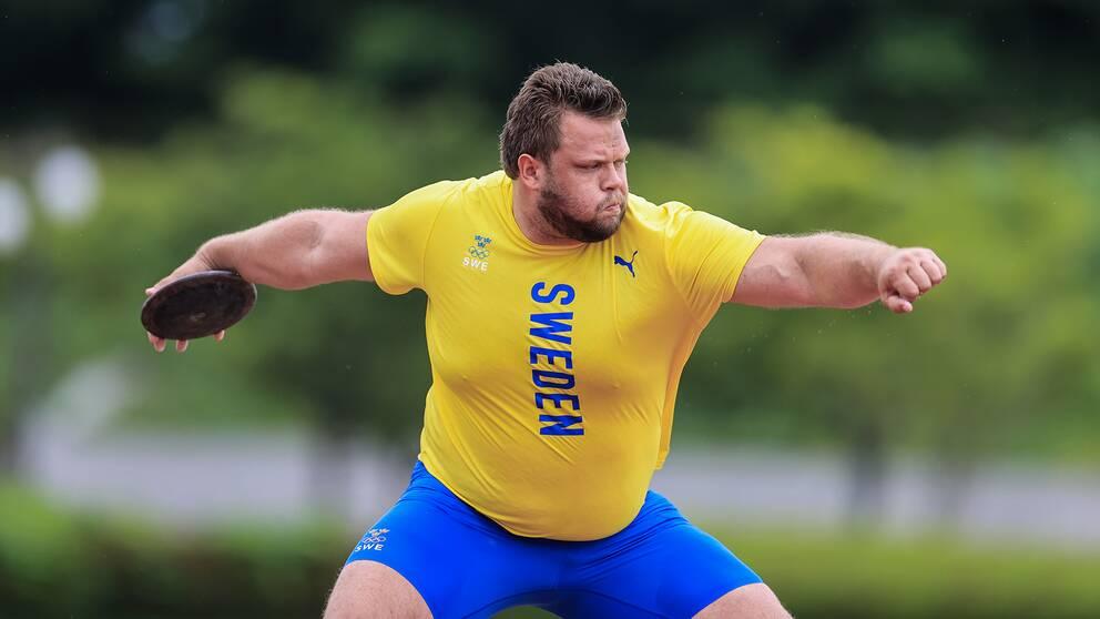 Daniel Ståhl är ett av Sveriges stora guldhopp.