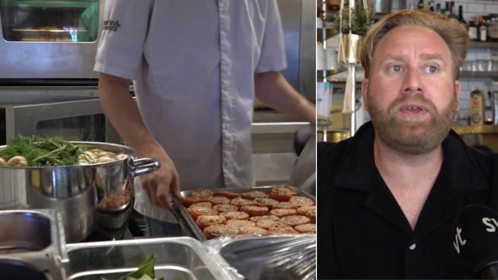 Martin Bergwall Nilsson äger nio restauranger och barer i Kalmar och på Öland.