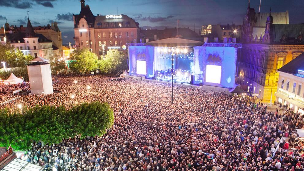 Här tar festivalen form är Malmöfestivalens nya mötesplats