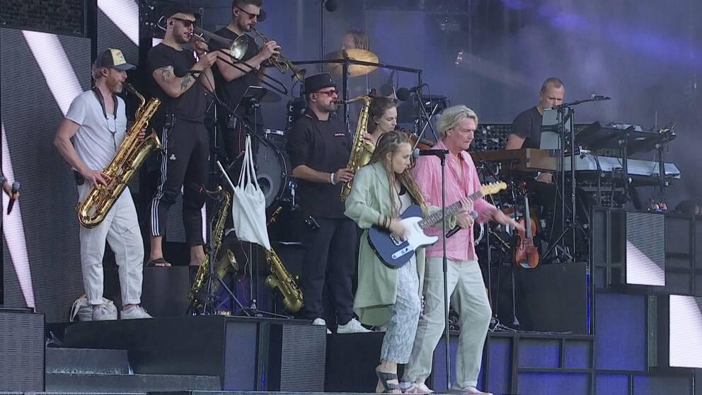 Mariette och Tommy Nilsson på Digiloo
