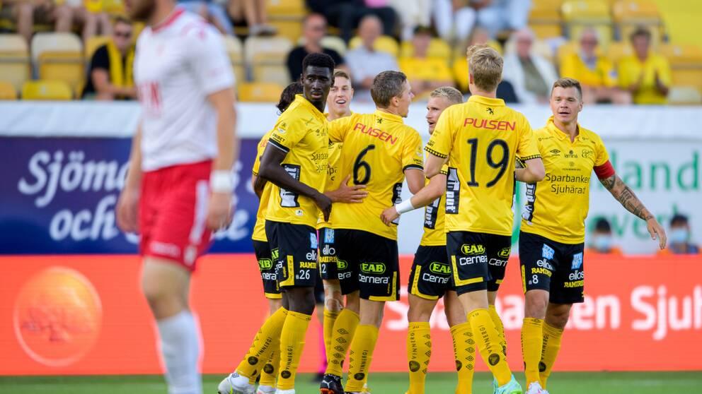 Elfsborg vann första kvalmötet i Conference League.