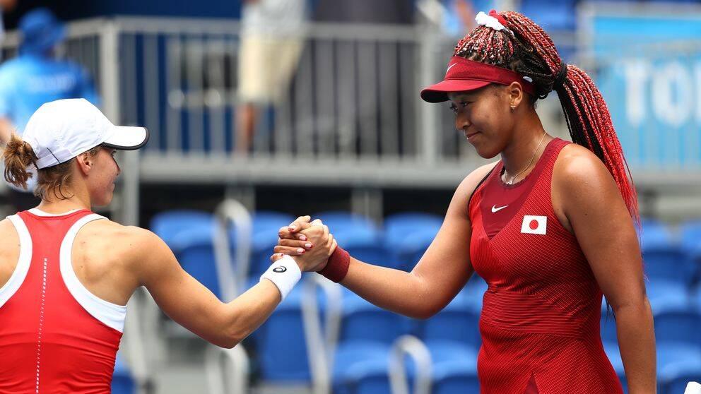 Naomi Osaka är vidare i OS-turneringen.