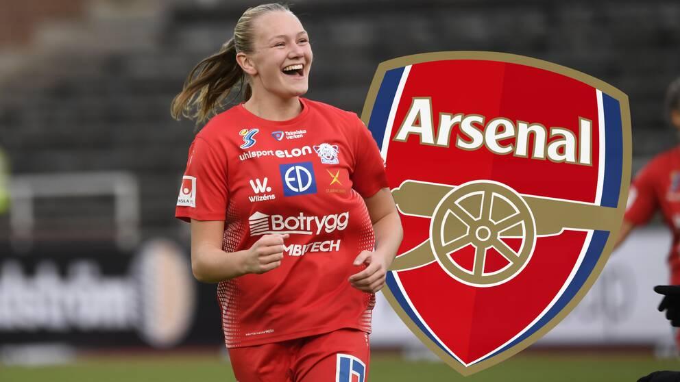 Frida Maanum klar för Arsenal.