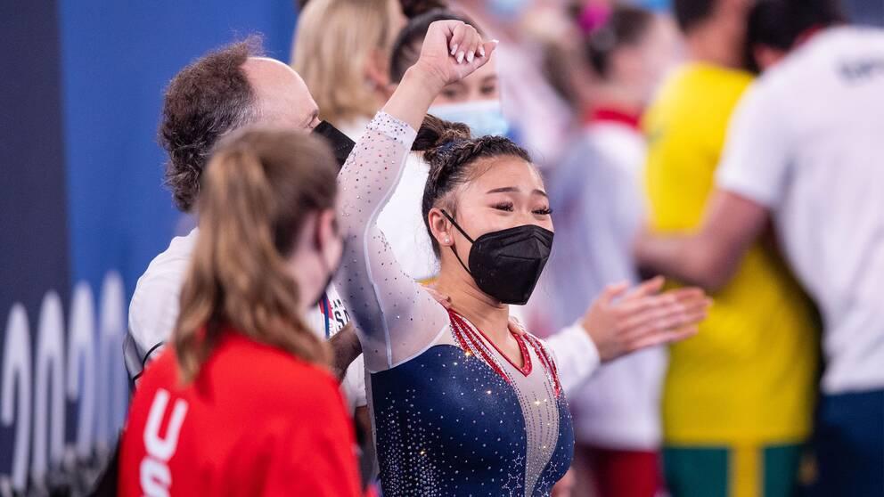 18-åriga Sunisa Lee ordnade amerikansk seger.