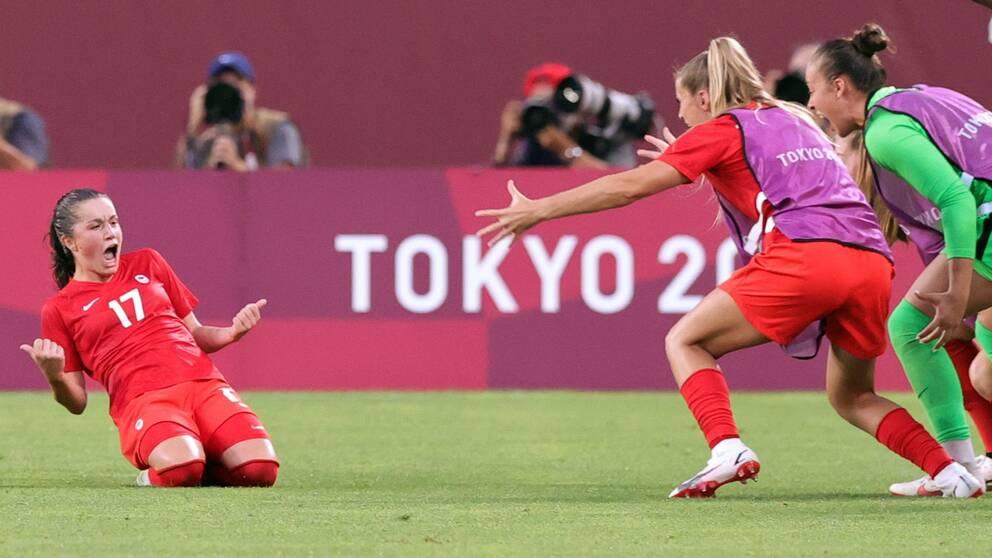 Jessie Flemings straffmål tog Kanada till OS-final.