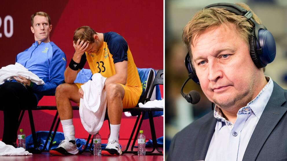 SVT:s expert Magnus Grahn tycker att Sverige var bättre än Spanien.