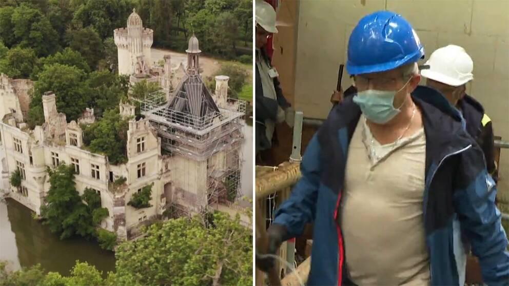 20000 personer gick ihop och köpte slottet Château de la Mothe-Chandeniers i västra Frankrike.