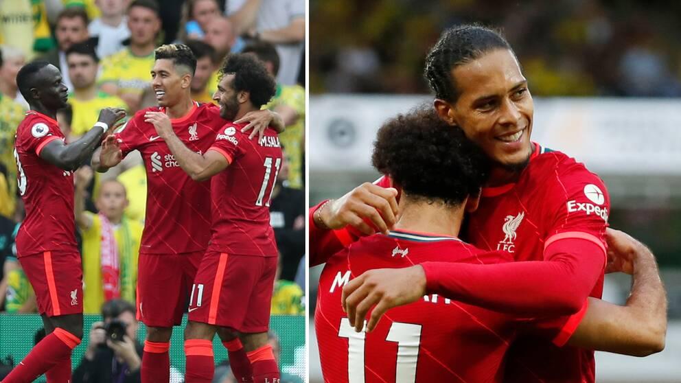 Liverpool besegrade nykomlingen Norwich med 3-0.