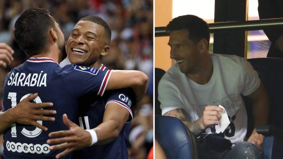 Paris Saint-Germain vann inför ögonen på Lionel Messi.