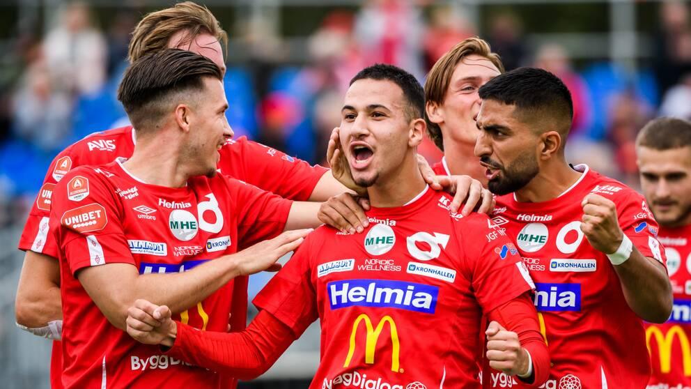 Abdelrahman Saidi satte 2-0 för Degerfors.