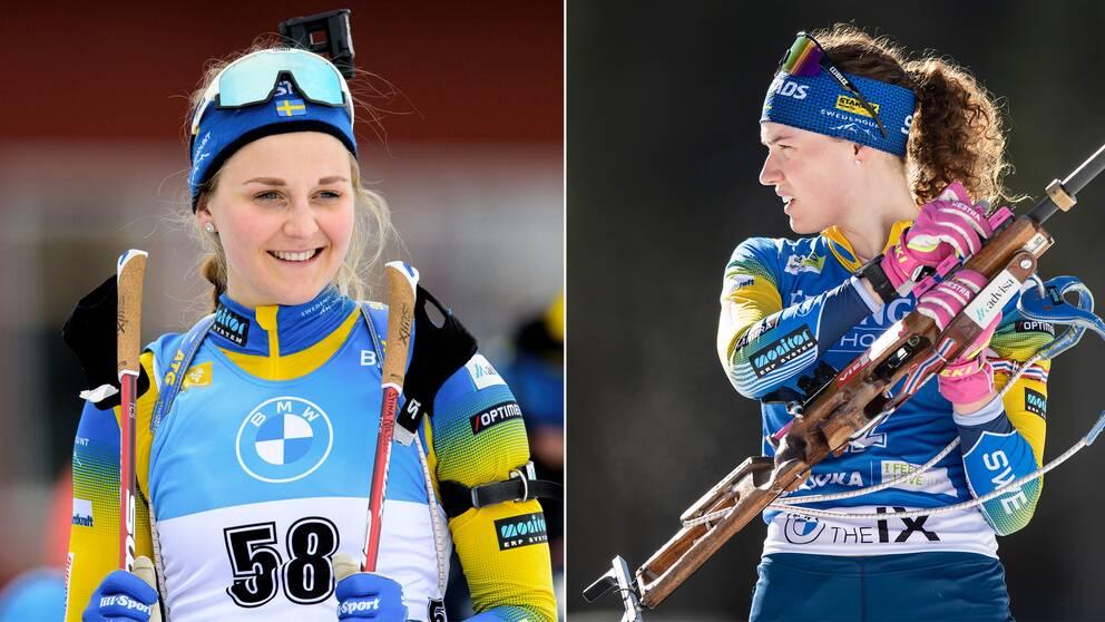 Stina Nilsson och Hanna Öberg.